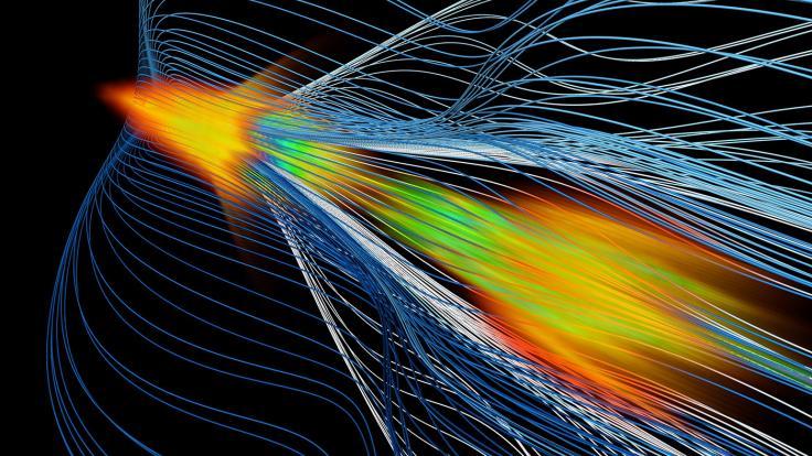 Image of positron acceleration 1