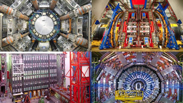 Photo of four detectors