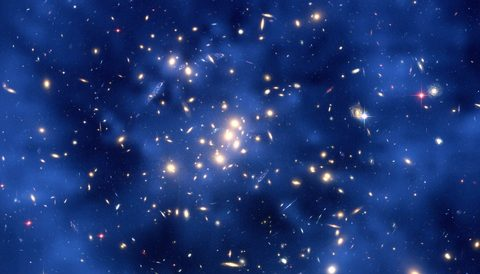 Seeing dark matter without seeing
