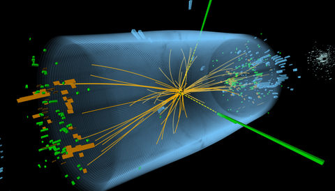 Experiments combine to find mass of Higgs