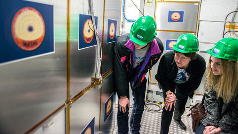 Students join the hunt for exotic new physics