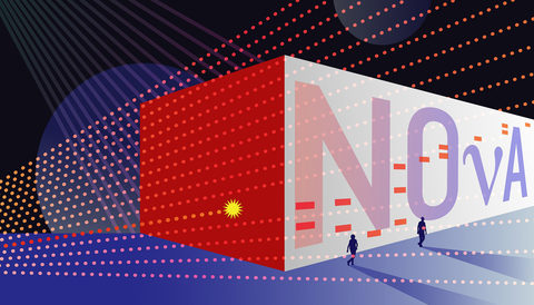 500-mile neutrino experiment up and running