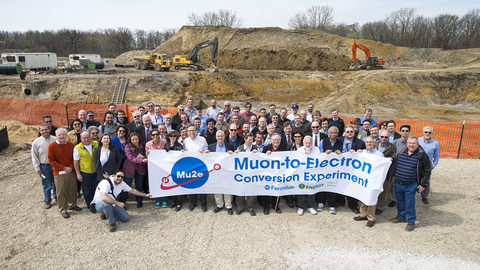 Mu2e breaks ground on experiment